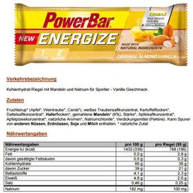 PowerBar New Energize Sportvoeding met basisprijs Original Vanilla Almond 25 x 55g